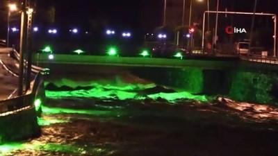 baraj kapaklari -  Yağlıdere'de sel ve heyelan nedeniyle mahsur kalan vatandaşları kurtarma çalışmaları sürüyor