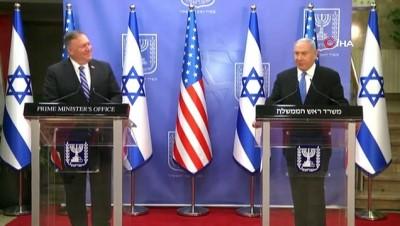 - ABD'nin BAE'ye F-35 satışında İsrail endişeli - Netanyahu: 'Pompeo, İsrail'in bölgedeki askeri üstünlüğünü koruma garantisi verdi'