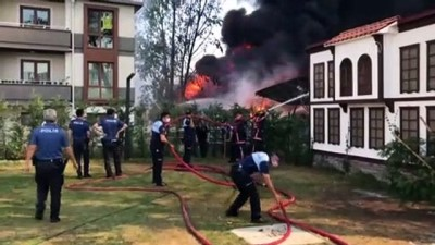 ozel okul - Marketin deposunda çıkan yangın kontrol altına alındı - SAKARYA