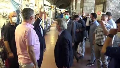 Bakan Yardımcısı Demircan, 'Önemli bazı yapıların restorasyonu için istişareler yapıyoruz'