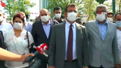 İBB Başkanı İmamoğlu, Gezi Parkı'nda incelemelerde bulundu
