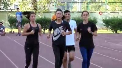 milli atletler - Atletizm finalleri Bursa'da