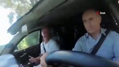 emniyet kemeri -  - Rusya Devlet Başkanı Putin, makam aracının direksiyonuna geçti