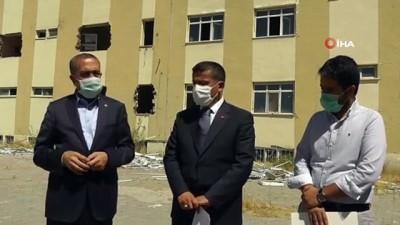 sagligi merkezi -  Erciş'te 30 ünitelik  ağız ve diş sağlığı merkezi yapılıyor