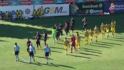 istanbulspor - Galatasaray, hazırlık maçında İstanbulspor'u 1-0 mağlup etti