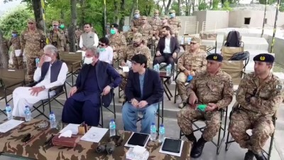 Pakistanlı bakanlar, Pakistan ile Hindistan arasındaki Keşmir Kontrol Hattı'nı ziyaret etti - KEŞMİR