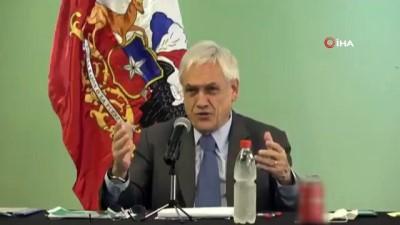 - Şili Devlet Başkanı Pinera korona virüse rest çekti