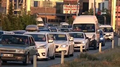 trafik cezasi -  43 ilin kilit kavşağından bayram tatili boyunca 434 bin araç geçti