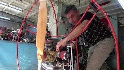 Hafif hava araçları için ürettiği ay yıldızlı motorları ihraç ediyor - BURSA
