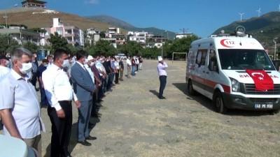 Kovid-19 nedeniyle hayatını kaybeden doktor toprağa verildi - OSMANİYE