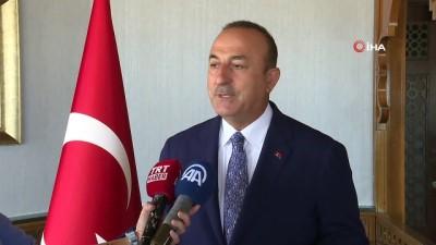 """- Bakan Çavuşoğlu: """"Sahada sükunet var diye her şey bitmiş değil, Libya'da sorun çözülmüş değil"""""""