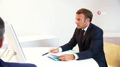 """- Liderler, Lübnan için bir arada - Macron: """"Lübnan'ın geleceği tehlikede"""""""