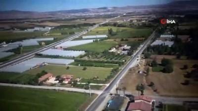 emniyet kemeri -  Çorum'da helikopter ile havadan trafik denetimi yapıldı