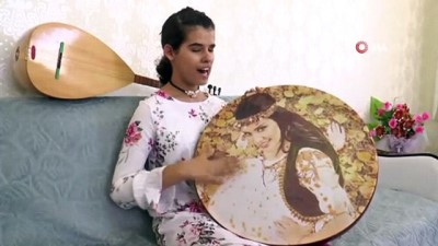 engelli kiz -  Görme engelli kızı hayata müzik ve pilates topu bağladı