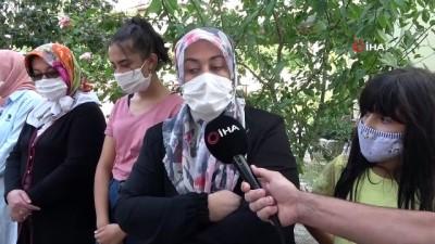 Engelli kızını döverken görüntülenen babanın komşuları konuştu