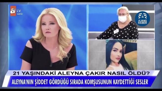 muge anli - Ümitcan Uygun'un Aleyna Çakır'a işkence uyguladığı anın ses kayıtları ortaya çıktı