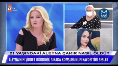 Ümitcan Uygun'un Aleyna Çakır'a işkence uyguladığı anın ses kayıtları ortaya çıktı