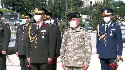 - Bakü'nün kurtuluşunun 102. yıl dönümü törenle kutlandı