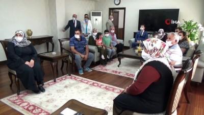 Karaman'da şehit ailelerine devlet övünç madalyası