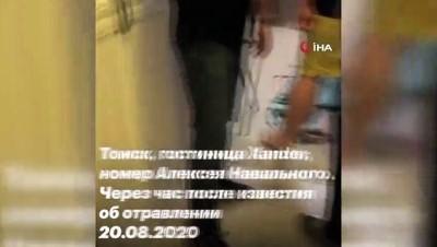 - Navalny otel odasında zehirlendi