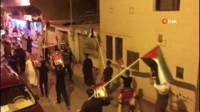 vatana ihanet -  - Bahreyn'de İsrail ile imzalanan normalleşme anlaşması protestoları devam ediyor