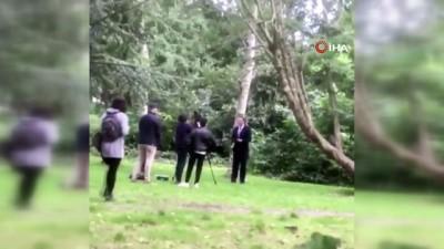 - İrlanda Başbakan Yardımcısı Varadkar'a sulu saldırı