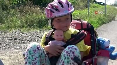 '1 Bisiklet Masalı': 5 yaşındaki minik Masal ve ailesi bisikletle Türkiye turunda