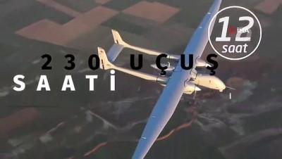 Türk Havacılık ve Uzay Sanayii'nin göz bebeği Aksunger uçuş testini tamamladı