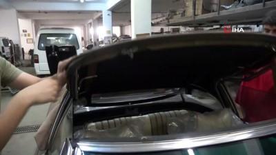 Efsane kasa yollarda...48 yaşındaki otomobil ilk günkü ihtişamıyla yollarda