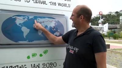 Dünya turuna niyet, Türkiye'ye kısmet...İngiliz çift, Türkiye'nin gönüllü turizm elçisi oldu