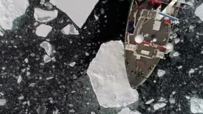 - Kuzey Kutbu buzullarında en düşük 2. seviye ölçüldü