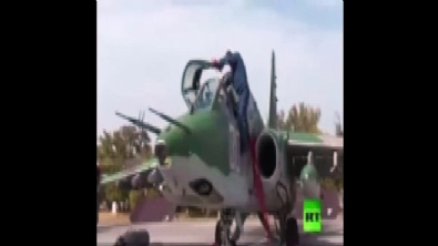 Su-25 jetlerinin o anlarını dünyaya servis ettiler!