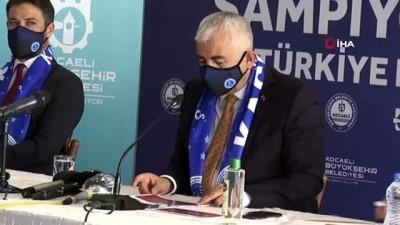 voleybol takimi - TBL'de mücadele edecek Kağıtspor'da imza şov