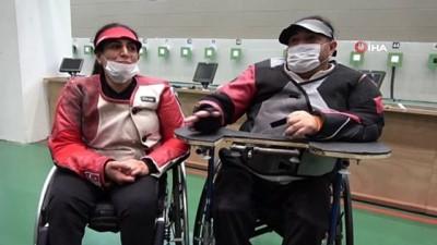 2008 yili - Paralimpik Atıcılık Türk ve Ukrayna Milli Takımlarının ortak kampları başladı
