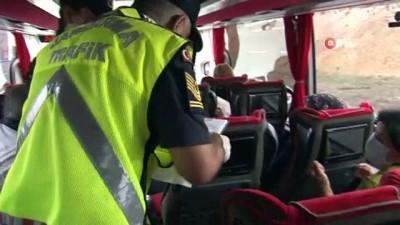 Şehirlerarası yolcu otobüslerinde 'HES Kodu' denetimi