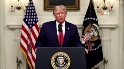 - Trump, BM'de Çin'i virüsü dünyaya yaymakla suçladı - Trump'tan bir kez daha 'Çin virüsü' çıkışı