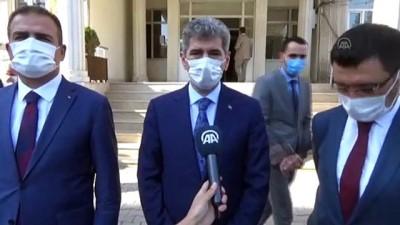 İçişleri Bakan Yardımcısı Muhterem İnce Yüksekova'da incelemelerde bulundu - HAKKARİ