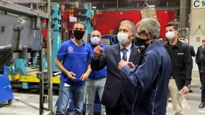 İstanbul Valisi Ali Yerlikaya'dan Mercedes fabrikasında kademeli mesai görüşmesi - İSTANBUL