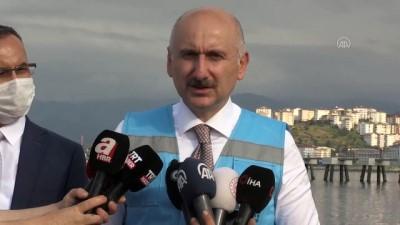 Karaismailoğlu: '3 milyon yolcu kapasiteli Rize-Artvin Havalimanı bittiğinde tüm Karadenize hizmet verecek' - RİZE