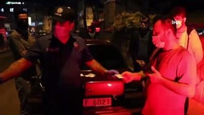 Maske cezası kesilen sürücüden polise, 'Helal olsun' sitemi