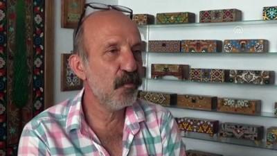 Osmanlı yadigarı süsleme sanatı Edirnekari, Bulgaristan'da tanıtılacak - EDİRNE