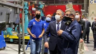 Vali Yerlikaya, Mercedes-Benz Türkiye Fabrikasını ziyaret etti