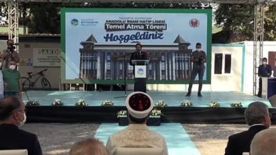 imam hatip okullari - Diyanet İşleri Başkanı Erbaş, mezunu olduğu okulun yeni binasının temelini attı - SAKARYA