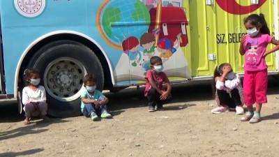 Mevsimlik işçilerin çocuklarının eğitimi için otobüs tahsis edildi - ANKARA