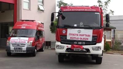 Samsun'da İtfaiye Haftası kutlandı