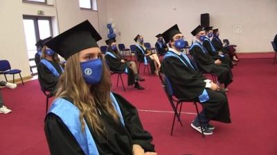 Uluslararası Saraybosna Üniversitesi 12'nci dönem mezunlarını verdi