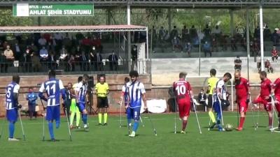 Ampute Futbol Türkiye Kupası şampiyonu Etimesgut Belediye Spor Kulübü oldu - BİTLİS
