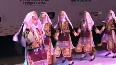 'Avrupa Spor Haftası' etkinlikleri kapsamında gece etkinliği düzenlendi - NEVŞEHİR
