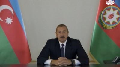 Azerbaycan Cumhurbaşkanı Aliyev: 'Kendi öz topraklarımızı savunuyoruz, Karabağ bizimdir, Karabağ Azerbaycan'ındır' - BAKÜ