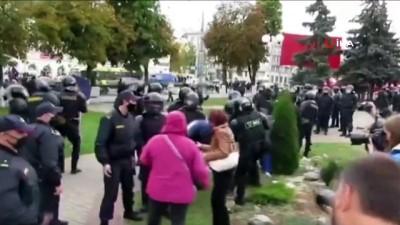 - Belarus'ta Lukaşenko karşıtı protestolar 7. haftasında - Yaklaşık 200 gösterici gözaltına alındı